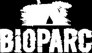 Logo blanc du Bioparc de Doué-la-Fontaine