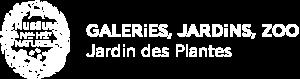 Logo blanc du Jardin des Plantes
