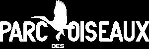 Logo blanc du Parc des Oiseaux