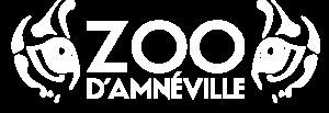 Logo blanc du zoo d'Amnéville