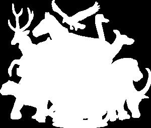 Logo blanc du Zoo des 3 Vallées