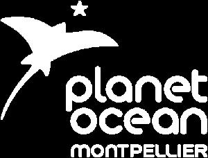 Logo blanc Planet Ocean