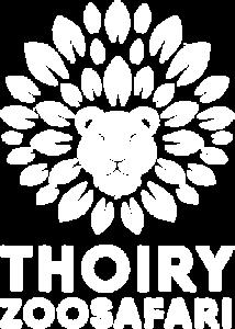 Logo blanc Zoo de Thoiry
