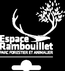 Logo blanc de l'Espace Rambouillet
