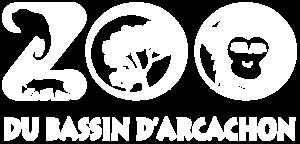 Logo blanc du Zoo du Bassin d'Arcachon