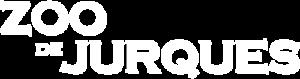 Logo blanc du Zoo de Jurques