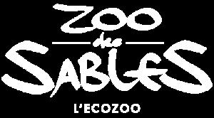 Logo blanc du Zoo des Sables d'Olonne