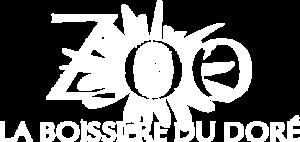 Logo blanc de la Boissière du Doré