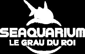 Logo blanc de Seaquarium