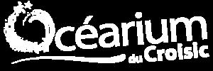 Logo blanc de l'Océarium du Croisic