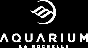 Logo blanc de l'Aquarium de La Rochelle