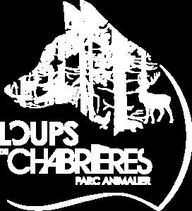 Logo blanc Les Loups de Chabrières
