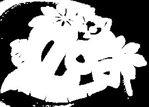 Logo blanc ZOA Parc