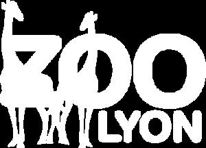 Logo blanc du Zoo de Lyon